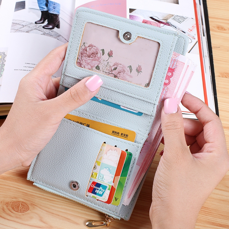 Pu Leather Womens wallets and Purses Small Fashion Embroidery Short Wallet for Credit Cards Coin Purse Holders Bag fashion pu leather purse women wallet id card holder coin purse zipper womens wallets and purses brand design small wallet women