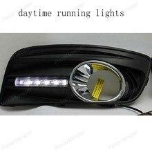 2 шт./лот автозапчастей дневной ходовой огонь, DRL Для V/W golf 5 2003-2009 светодиодных автомобилей стайлинг аксессуар