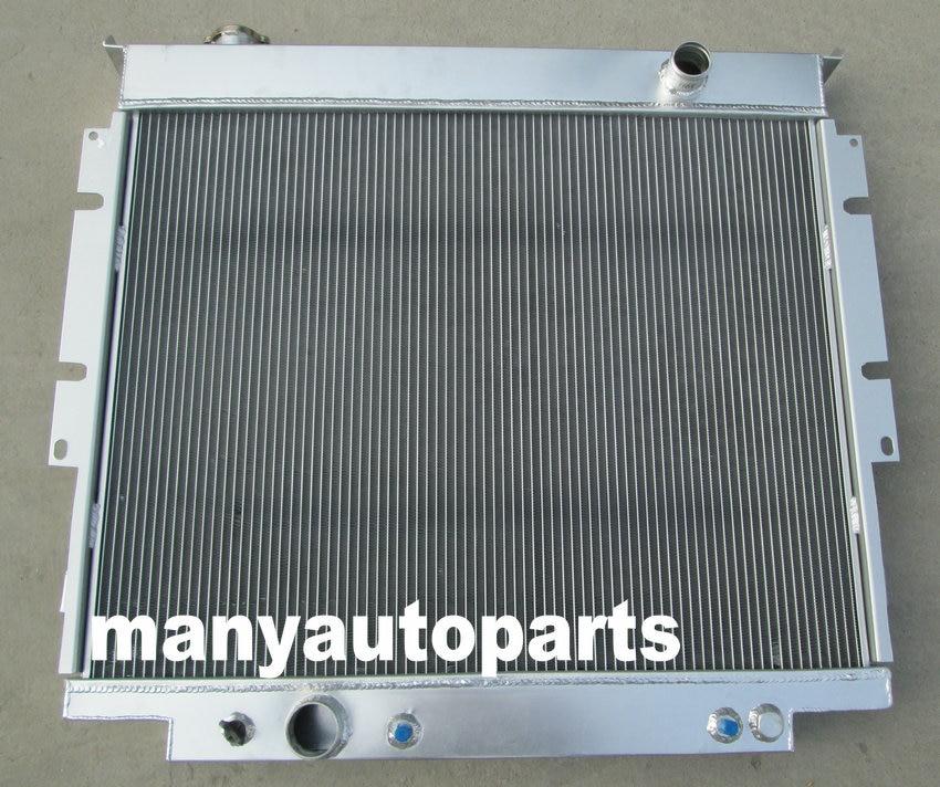 3 core aluminum radiator for Ford F250 F350 V8 Diesel 6.9L 7.3L 1983-1994