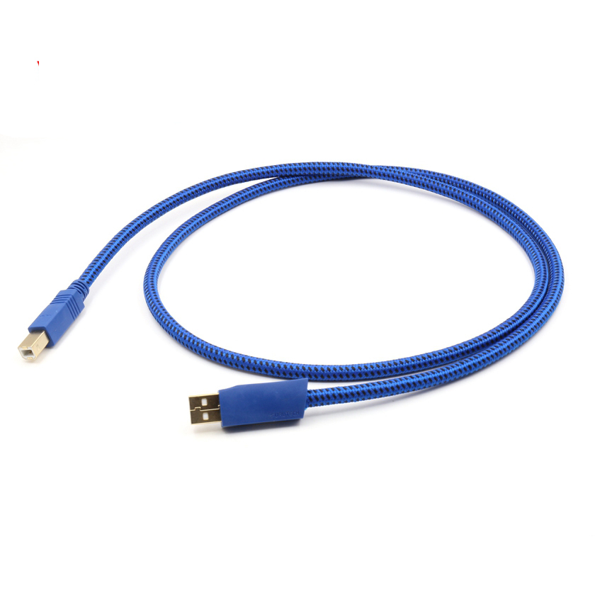 Free shipping pieces GT2 USB Male To B Type Cable For printer scanner etc. внешний жесткий диск hdd transcend usb 3 0 2tb ts2tsj 25 a3k 2 5 черный