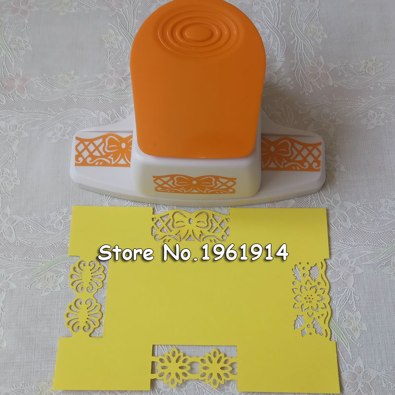 2017 New Large fancy flower border punch edge of the embossing machine handmade device DIY paper