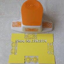 Новинка 2017 года большой причудливый цветок бордюрный Дырокол края тиснения ручной работы устройства DIY резак для бумаги ручной работы Скрапбукинг