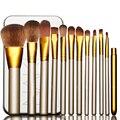 MT43-1 Set/Kits 100% Marca Nueva Fundación de Maquillaje Cepillo Cosmético Portable de moda Popular para Principiantes Todos Los tipos de piel