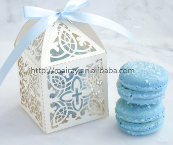 Party favour wedding favors laser cut candy boxes baby shower favors souvenirs