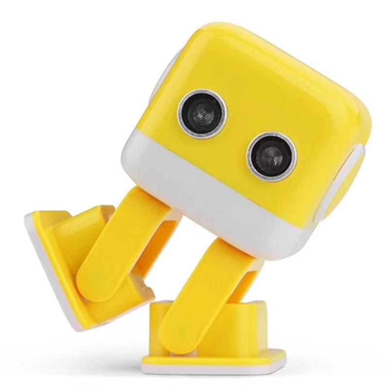 Oyuncaklar ve Hobi Ürünleri'ten RC Robotlar ve Hayvanlar'de Sıcak satış WL F9 APP/radyo kontrol akıllı akıllı dans rc robot Cubee Robot'da  Grup 3