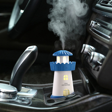 Essential Oil Diffuser Car Air Humidifier 150ML USB 5V 3Colors Ultrasonic Mist Make Oil Diffuser Aromatherapy Car Purifier