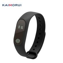Kaimorui M2 фитнес-браслет монитор сердечного ритма Смарт трекер Браслет для IOS Android PK fitbits mi Группа 2 M2