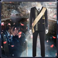 Athemis Final Fantasy XV Noctis Lucis Caelum Costume Cosplay For Men Full Set Custom Made High Quality