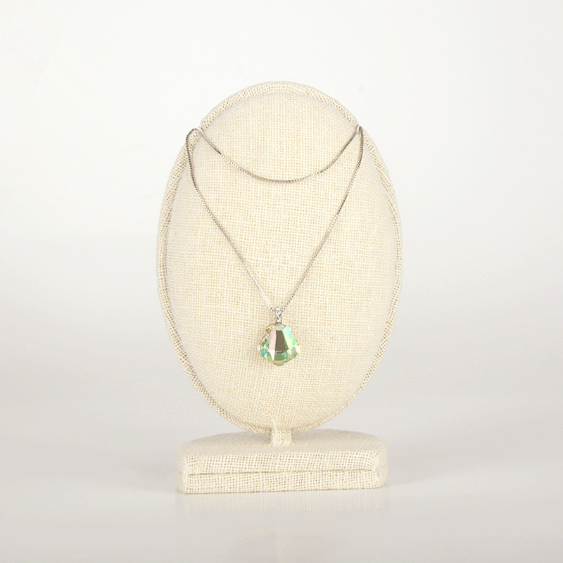 Linen Jewellery: New Fashion Pendant Display Stand Linen Necklace Display