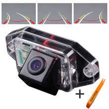 For CCD track Camera Back up TOYOTA LAND CRUISE PRADO Car Rear View Directive Parking Assistance Reversing Trajectory  HD  цены