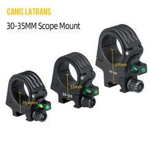 Canis Latrans Tactical different Center height scopes mounts 30-35mm Picatinny Rail mount dobble ring hunting rifle scope mount цена 2017