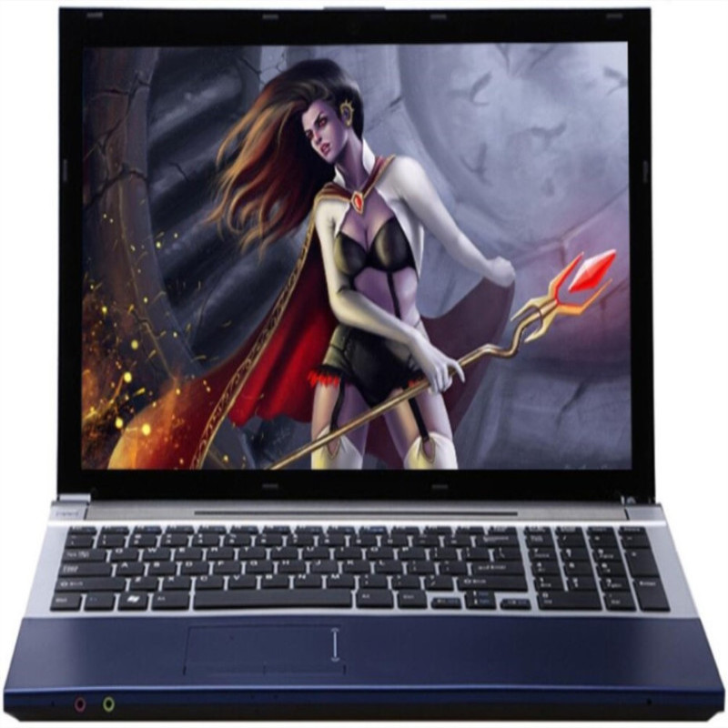 8G RAM - 60G SSD - 750G HDD Intel Core I7 CPU Laptop 15.6inch LED 1920x1080P Windows 7/10 Notebook With DVD-RW For Office Home