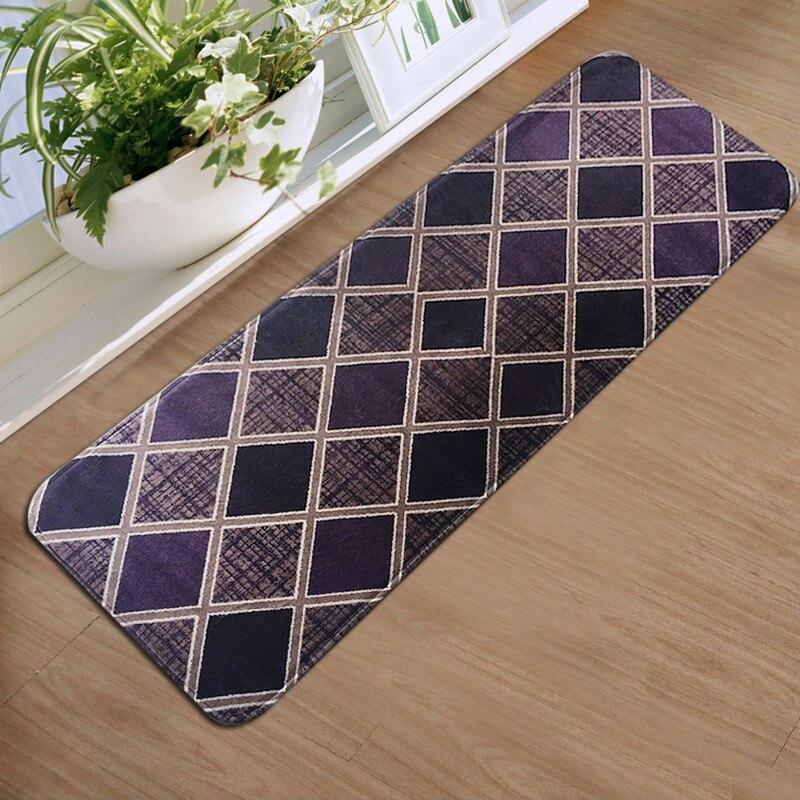 flannel floor mats long kitchen mat bathroom aabsorbent