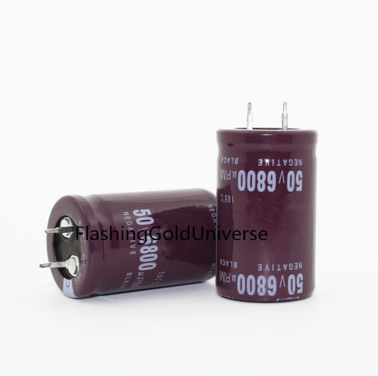 50V 6800UF 6800UF 50V Electrolytic Capacitors Size: 25*40mm best quality image
