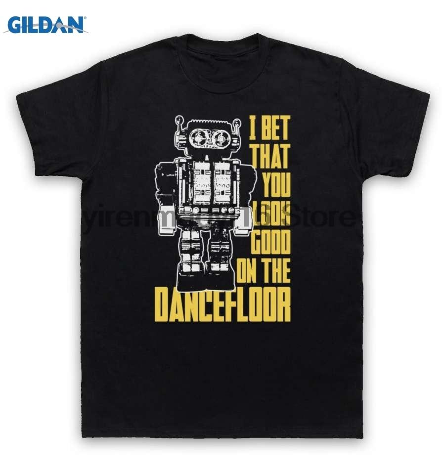 GILDAN 100% cotton O-neck printed T-shirt Arctic Monkeys T Shirt I Bet That You Look Good On The Dance Floor for men
