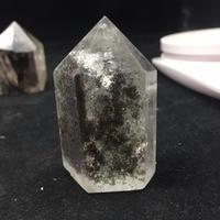 108g Natural Cristal de Cuarzo Minerales Cristales Piedras En Especial fantasma verde para La Decoración Casera