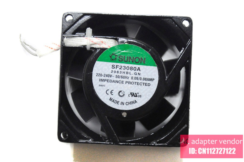 Genuine SUNON fan SF23080A 83HBL.GN 8038 2V 8cm fan