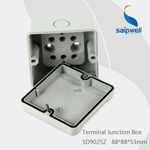 *IP65* CE Approved Surface Mounted  Plastic Junction Box  88*88*53 mm  ( SD9025Z)