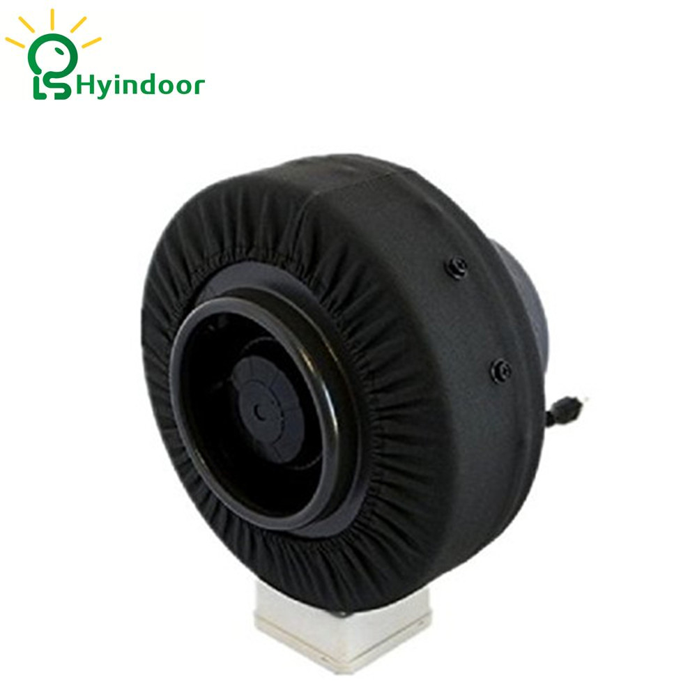 8 Inches Inline Centrifugal Exhaust Duct Fan Blower for Ventilation Hydroponics fantech fr 250 inline centrifugal 10 duct fan molded housing ã° 649 cfm