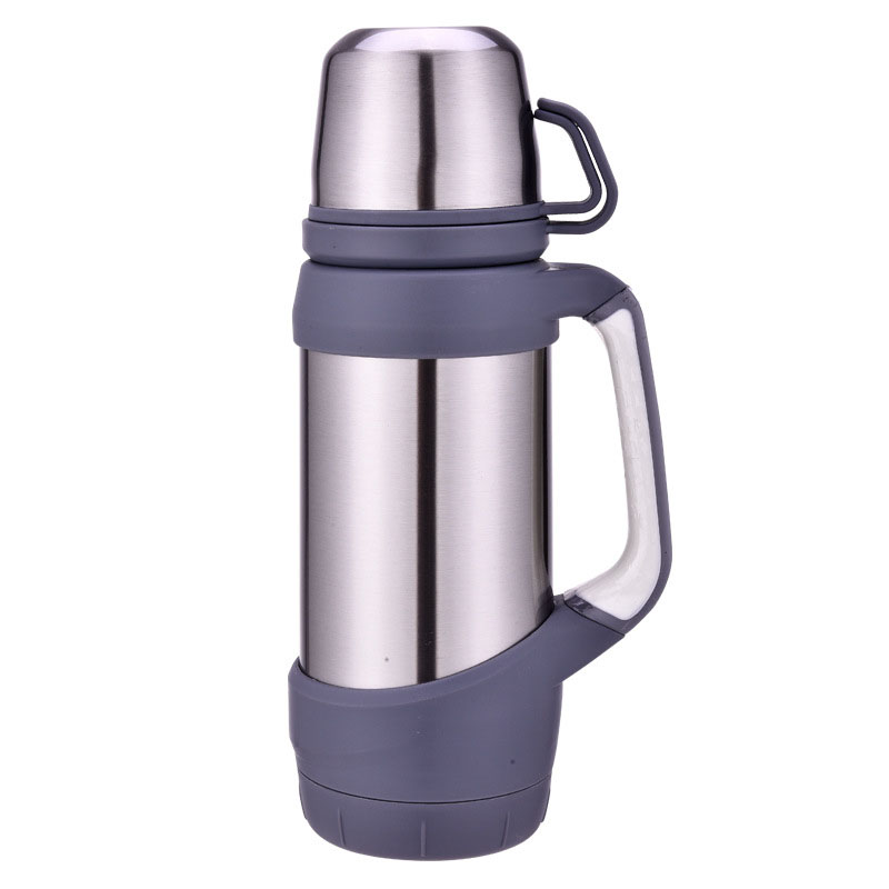 Image 3 - Keelorn Vacuum Flasks Thermoses Stainless Steel 1.2L 1L Big Size Outdoor Travel Cup Thermos Bottle Thermal Coffee Thermoses Cup-in Vacuum Flasks & Thermoses from Home & Garden