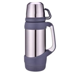 Image 3 - Keelorn flacons sous vide Thermoses acier inoxydable 1.2L 1L grande taille en plein air voyage tasse Thermos bouteille thermique café Thermoses tasse