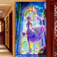 DIY 5D Sale Diamond Embroidery, Diamond Mosaic, Cartoon Beauty God Of War, Special Shaped, Diamond Painting, Cross Stitch,3D, De