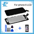 LCD Display For iphone 6 Full Assembly Touch Screen Digitizer Grade A+ Quality With Front Camera+Home Button+Temper Glass+Tools