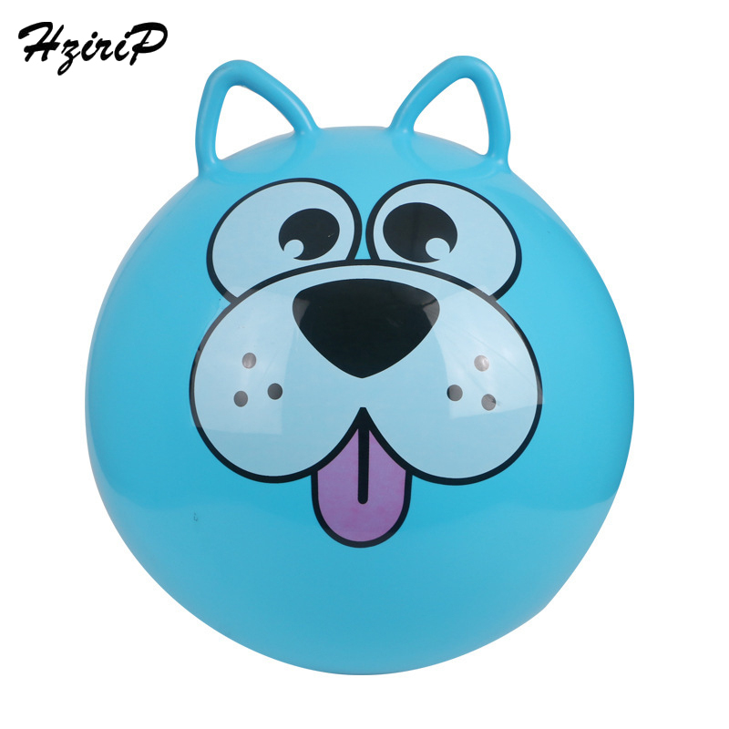 HdriP 18 Inch 45CM Inflatable Balls PVC High Quality Colorful Bouncing Ball Thick Kindergarten Outdoor Fun Sports Toy For Kids