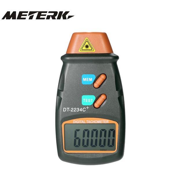 Handheld Laser Digital Tacômetro RPM Medidor de Não-Contato Do Motor Torno  Medidor de Velocidade 426788d2f7