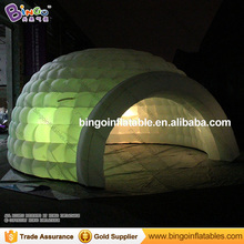 Бесплатная доставка Светодиодное освещение 16.4 футов надувные иглу купольная палатка Лидер продаж 16 Цвета Изменение светодиоды для игрушки палатки