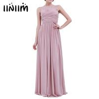 Women Ladies Chiffon Lace Tutu Elegant Dress Long Evening Prom Gown First Communion Dress For Wedding
