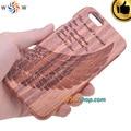5 pc lot para iphone 6 caso caixa de madeira real para iphone 6 asa da águia 3d de madeira case capa fundas coque para iphone 6 6 s além de