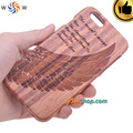 5 unid lot para iphone 6 caso caja de madera real para el iphone 6 3d eagle wing cubierta de madera del caso fundas coque para iphone 6 6 s plus