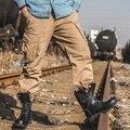 Estilo militar Pantalones de Los Hombres Pantalones Cargo Con Múltiples Bolsillos Laterales Para Hombre Pantalones Sueltos Al Aire Libre Overol Negro Peu Gris Verde Del Ejército