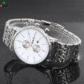 Luxury Brand Men Watches Men Wristwatch XFCS Quartz Stainless Steel Date Clock Male Waterproof Sports Watch Casual Men's Watches