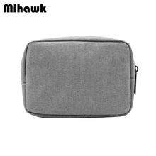 Mihawk Oxford Fabric Digital Package Data Cable Mouse Charging Mobile Data Men's Travel Necessary Storage Organizer Accessories