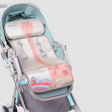 цена на Baby Stroller Accessories Seat Ice silk Cooling Pram Car Seat Pad Non-slip Summer Breathable Baby Cushion