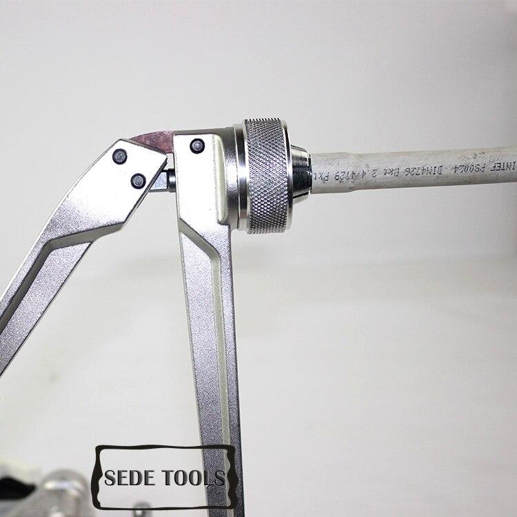 Гидравлический Трубный инструмент из алюминиевого сплава для расширителя труб и обжима труб 16-32 мм SD-1632AZ