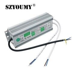SZYOUMY zasilacz DC 12 V wodoodporny IP67 sterownik LED Dc 12 V 100 W zasilacz impulsowy na zewnątrz używane taśmy Led sterownik