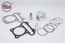 Performance 52mm Piston Rings Gasket Kit GY6 50CC to 120CC Jonway Sunny Keeway Taotao Roketa JCL