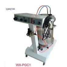 Новое оборудование с порошковым покрытием WX-PGC1 опрыскиватель электростатическое напыление машина для нанесения порошкового покрытия 110 V/220 V 50 W 55L Горячая