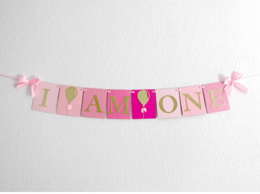 Popular 1st Birthday Banner-Buy Cheap 1st Birthday Banner lots ...