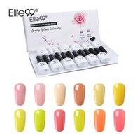 Elite99 Pure Color Series 12pcs/set Gel Polish Kits With Box Magnet cat eye UV Gel Lacquer Soak Off Varnish Manicure Sets Gift