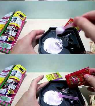 Новый счастливый cookin подарок на Хэллоуин Kracie Majo NeruNeru персик счастливый кухонный ПОПИН Кук Дети DIY игрушка ручной работы