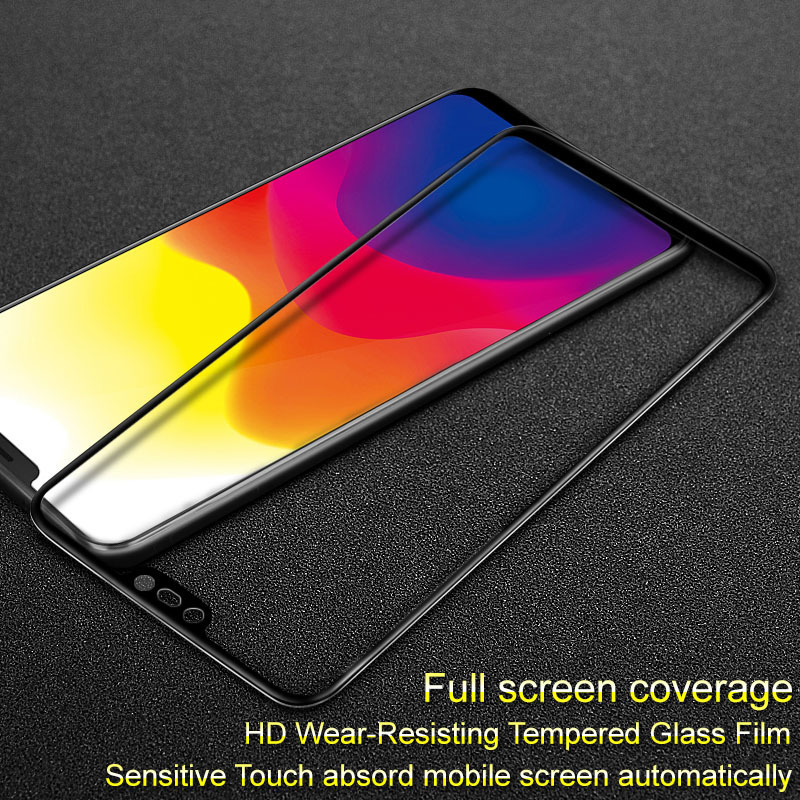 IMAK VIVO X21 Screen Protector Full Glue 9H 2.5D Tempered Glass For ViVO X21 X 21 Dual Sim Protective Film