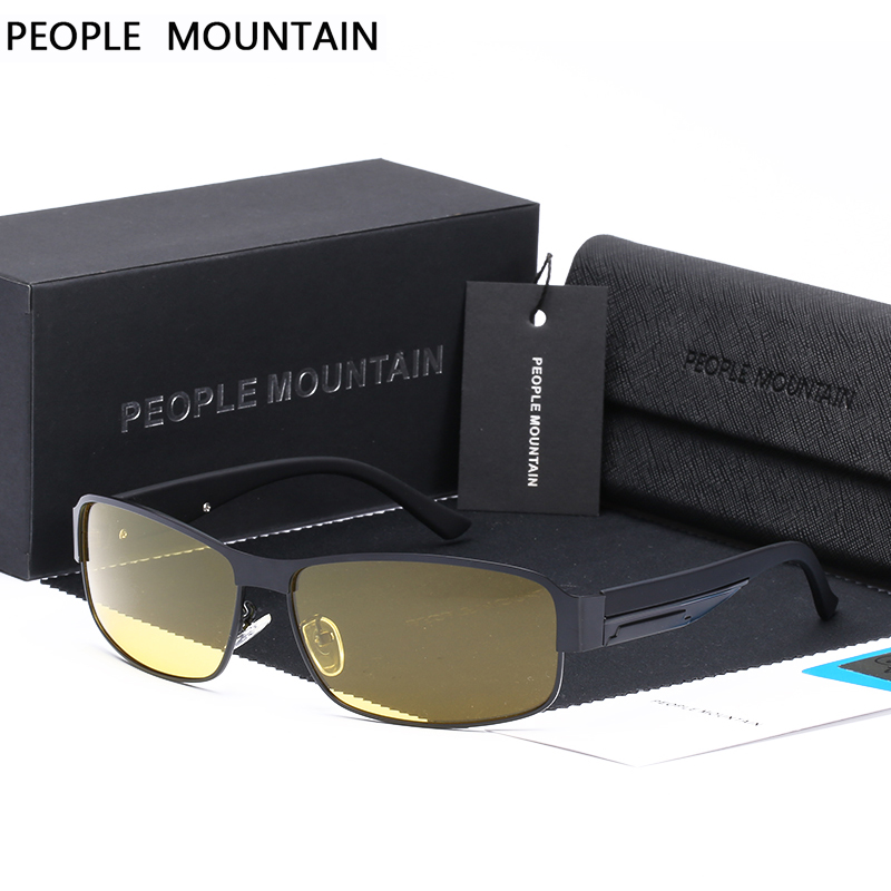 c034e1a75cb Detail Feedback Questions about Night Vision Glasses Brand Design Polarized  Sunglasses Women Men Driving Anti Glare Goggles Yellow Lenses Night driving  ...