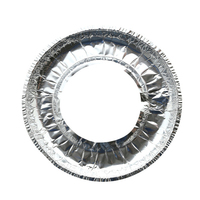 10Pcs Gas Herd Reinigung Pad Dicken Aluminium Folie Hohe Temperatur Pergament Papier Folie Schutz Abdeckung Küche Zubehör-in Herd Teile aus Haushaltsgeräte bei