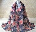 2016 New fashion,rose flower scarf,wrap shawl,head scarf,Floral hijab,Muslim hijab,Muffler,cape,shawls and scarves,viscose shawl
