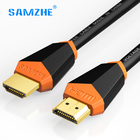 SAMZHE HDMI 2.0 Cable Gold-plated 4K*2K 60Hz UHD HDMI Cable 1m 1.5m 2m 3m 5m 8m 10m for HD TV LCD Laptop PS4 Projector Computer