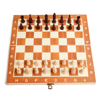 2017 High Quality Classic Wooden Chess Set International Chess Sets Rubber Wood Protection Pieces Solid Wood